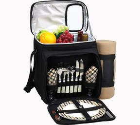Picnic at Ascot London Picnic Cooler For Two with Blanket