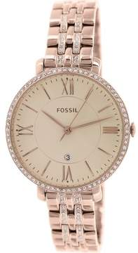 Fossil Women's ES3546 Jacqueline Stainless Steel Watch, 36mm