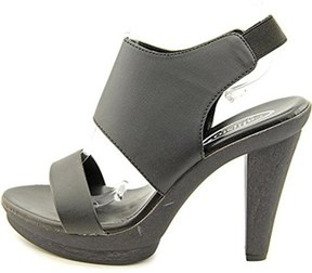 Callisto Women's Joshie Open-toe Synthetic Slingback Heel.