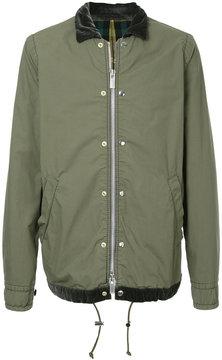 Sacai velvet collar bomber jacket