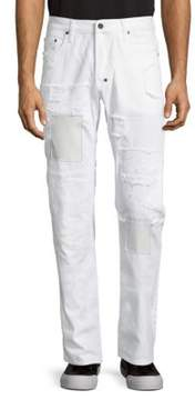 PRPS Hooray Distressed Cotton Jeans