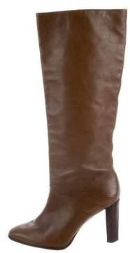 Diane von Furstenberg Leather Knee Boots