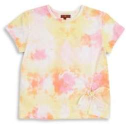 7 For All Mankind Girl's Knotted T-Shirt