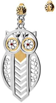 Azza Fahmy Owl & Ladybird Earrings