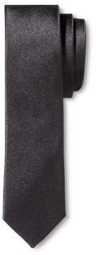 Merona Men's Tie Black Skinny Solid