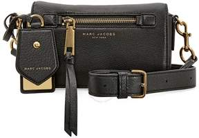 Marc Jacobs Recruit Leather Crossbody Bag - Black