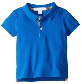 Burberry Palmer Short Sleeve Pique Polo Shirt Boy's Clothing