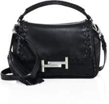 Tod's Amu Leather Messenger Bag