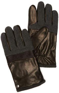 Perry Ellis Mixed Media Glove