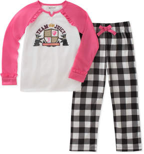 Juicy Couture Girls' 2Pc Pajama Set