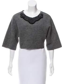 Pinko Wool Embellished Top