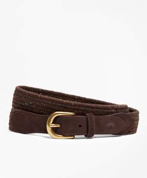Brooks Brothers Donegal-Effect Woven Belt