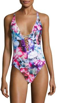 6 Shore Road Women's Sunrise One Piece Swimsuit