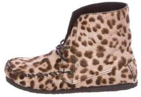 Etoile Isabel Marant Printed Ponyhair Boots