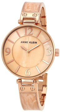 Anne Klein Blush Mother of Pearl Dial Ladies Watch