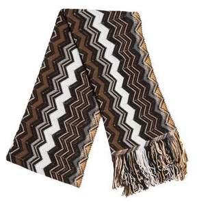 Missoni Woven Open Knit Scarf