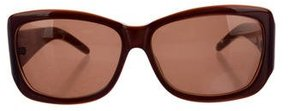 Vivienne Westwood Square Tinted Sunglasses