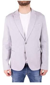Trussardi Men's Grey Cotton Blazer.