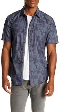 ProjekRaw Projek Raw Floral Short Sleeve Modern Fit Shirt
