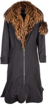Aalto Furred Zipped Collar Coat