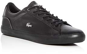 Lacoste Men's Lerond Leather Lace Up Sneakers