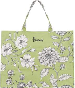 Harrods Sorrento Botanical Grocery Shopper Bag