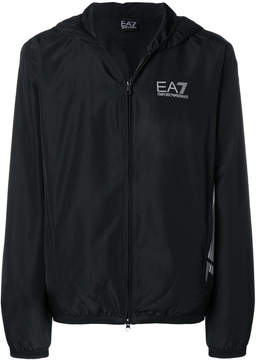 Emporio Armani Ea7 zipped fitted jacket