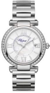 Chopard Imperiale Diamond, Mother-Of-Pearl & Stainless Steel Bracelet Watch