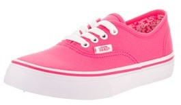 Vans Kids Authentic (neon Splatter) Skate Shoe.
