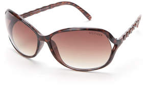 Tommy Hilfiger Brown Magda Rectangular Sunglasses