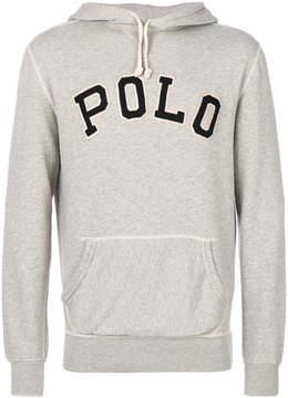 Polo Ralph Lauren embroidered hooded sweatshirt