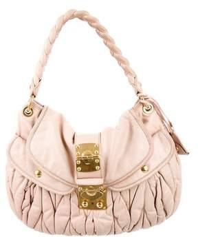 Miu Miu Coffer Satchel