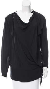 Edun Silk Long Sleeve Blouse