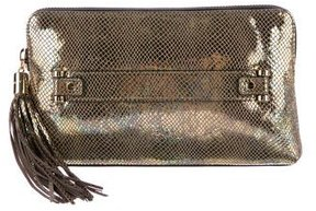 Milly El Dorado Tassel Clutch w/ Tags