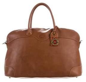 Longchamp Oversize Leather Satchel