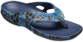 Crocs Swiftwater Kryptex Neptune Deck Men's Camouflage Flip Flop Sandals