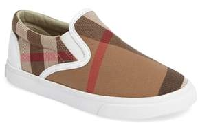 Toddler Boy's Burberry Linus Slip-On