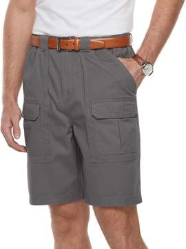 Croft & Barrow Men's Classic-Fit Side-Elastic Cargo Shorts