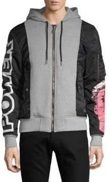 Moschino Full-Zip Hooded Jacket