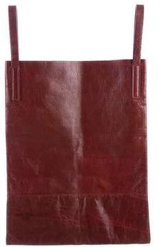 3.1 Phillip Lim Distressed Leather Shopper