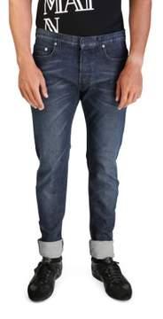 Christian Dior Men's Slim Fit Denim Jeans Pants Blue
