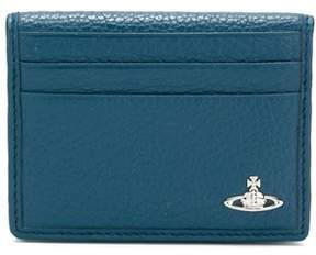 Vivienne Westwood Women's 5111002340324k401 Blue Leather Card Holder.