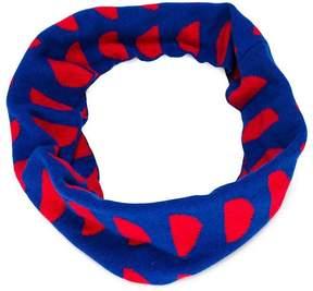 Bobo Choses geometric colour-block scarf