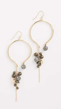 Alexis Bittar Bead Cluster Arc Earrings