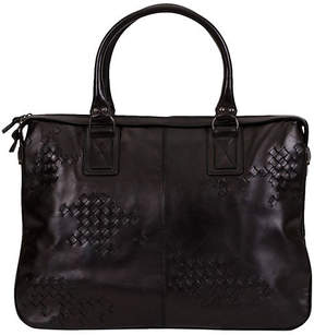 One Kings Lane Vintage Bottega Veneta Black Handbag