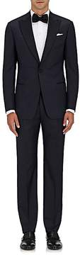 Giorgio Armani Men's Soft Satin-Trimmed Wool-Silk One-Button Tuxedo