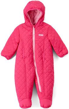 Weatherproof Pink Hooded Snowsuit - Infant