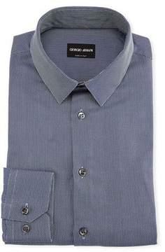 Giorgio Armani Men's Textured Cotton Dress Shirt