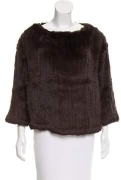 Brochu Walker Fur Pullover Sweater w/ Tags