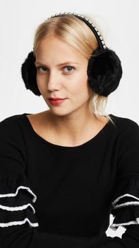 Kate Spade Imitation Pearl Earmuffs